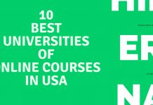 10 Best Universities of Online Courses in USA