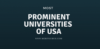 Most Prominent Universities of USA