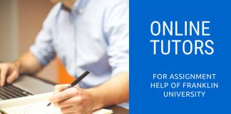 franklin university online tutor