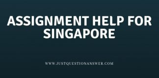 assignment help of singapore