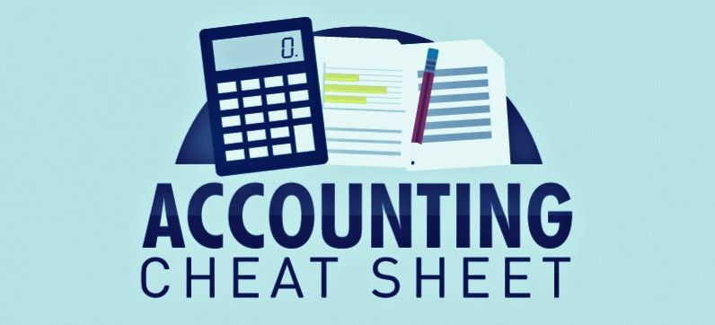 Accounting-cheatsheet for assignment help